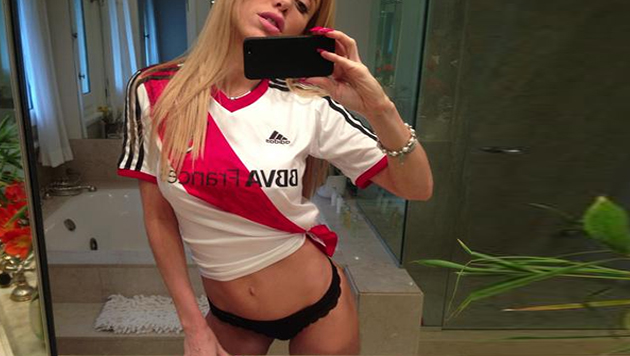 Melisia - La hincha de River hot