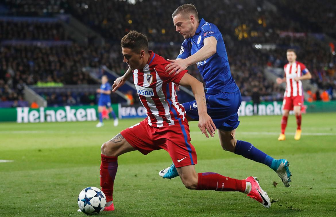 Leicester vs. Atlético Madrid (Reuters)