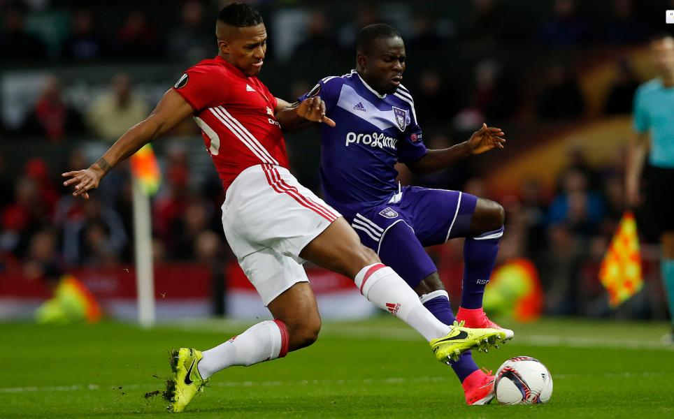 Manchester United vs. Anderlecht (Reuters)