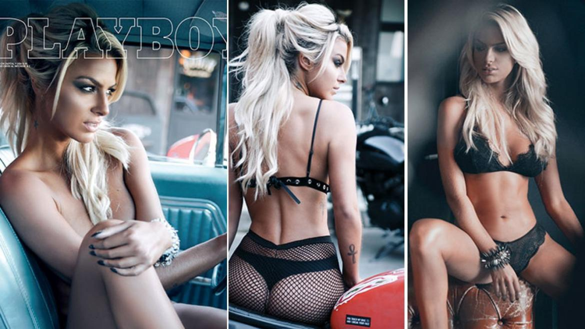 Ailen Bechara en Playboy