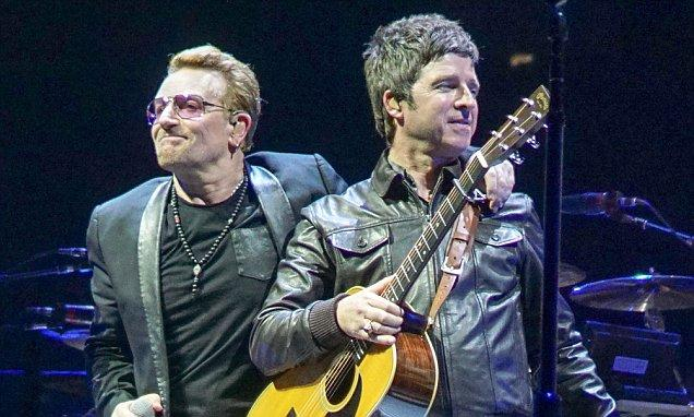 U2 y Noel Gallagher