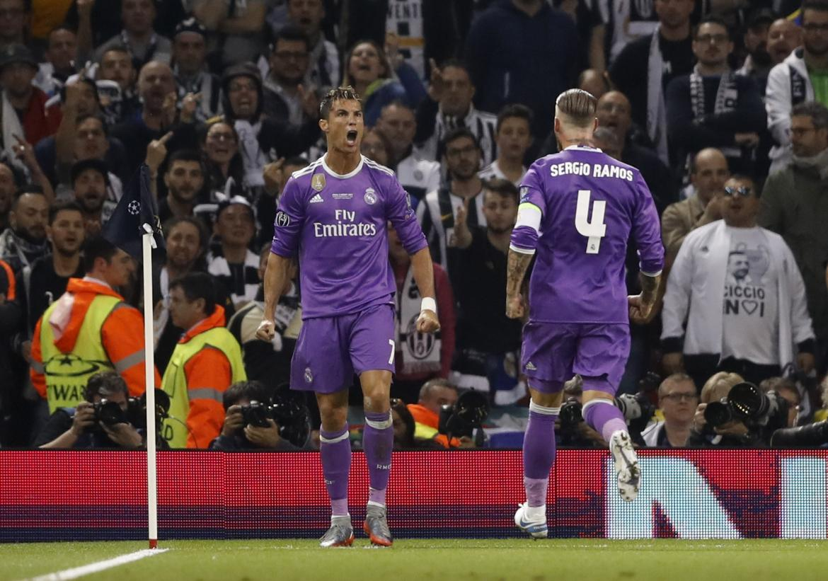 Gol de Cristiano Ronaldo en final de Champions League (Reuters)