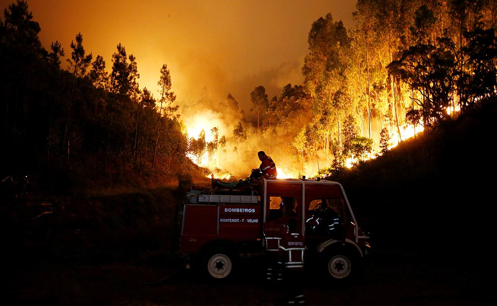 Incendio forestal en Portugal (Reuters)