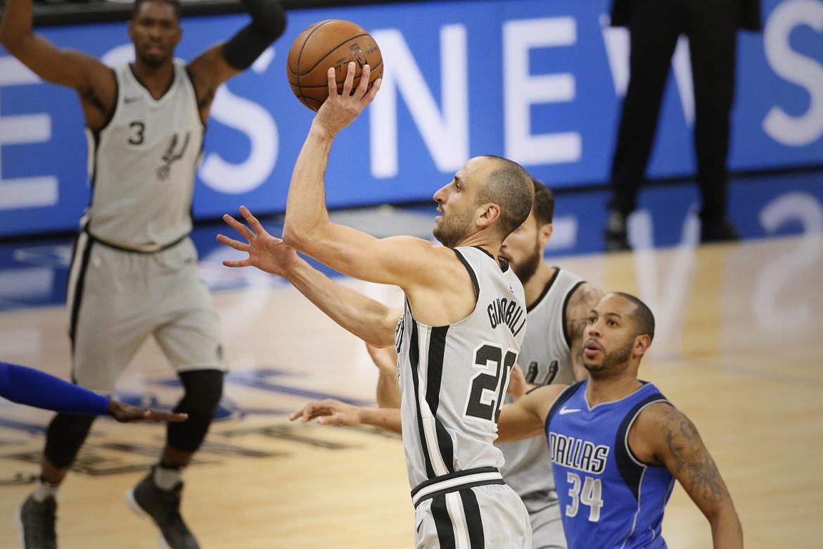 Manu Ginóbili - Spurs - NBA (Reuters)