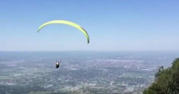 Parapente - accidente