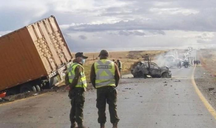 Accidente fatal de argentinos en ruta hacia Chile