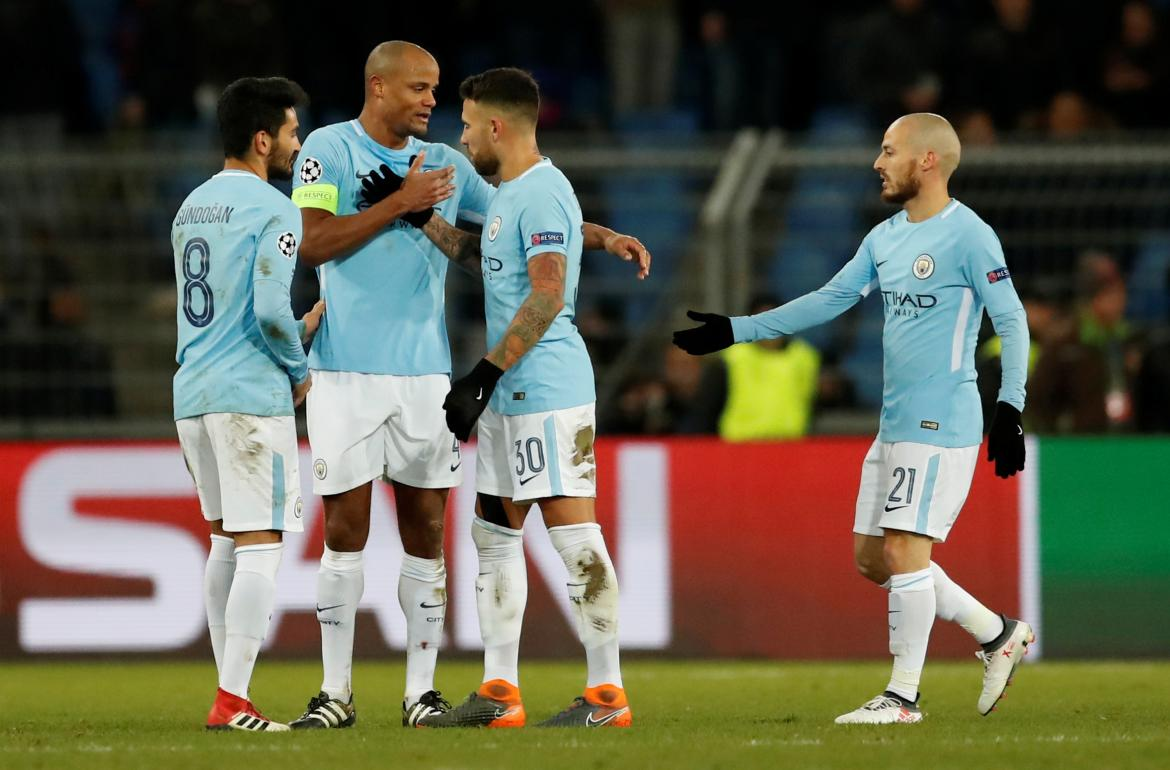 Champions League - Basilea vs. Manchester City - Otamendi - Reuters