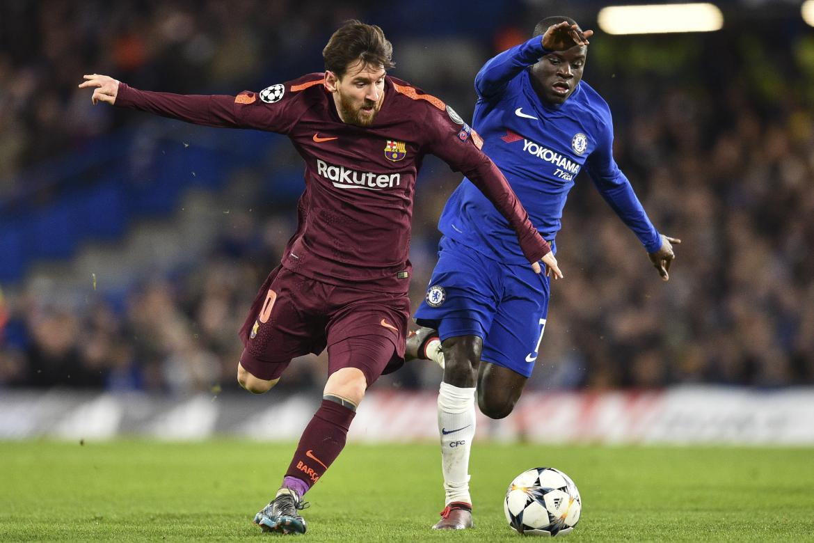 Messi - Barcelona vs. Chelsea - Champions League NA