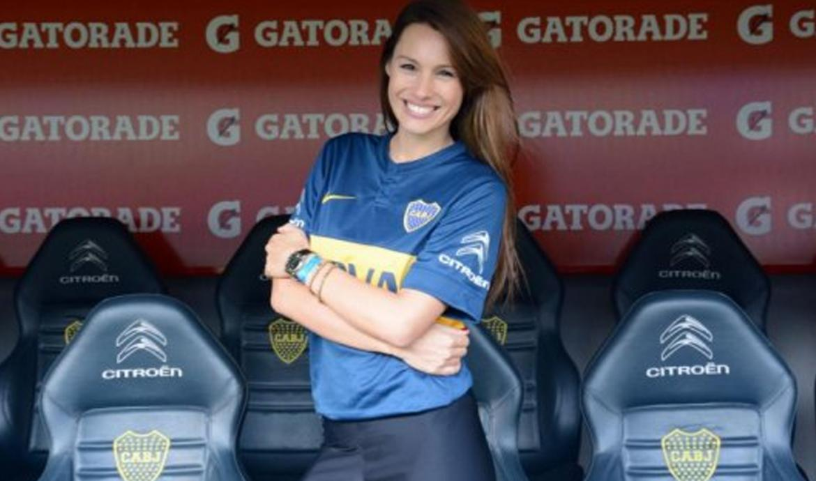 Pampita - Boca Juniors