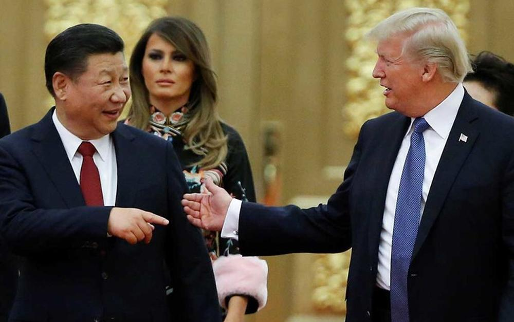 Xi Jinping y Donald Trump - China y Estados Unidos