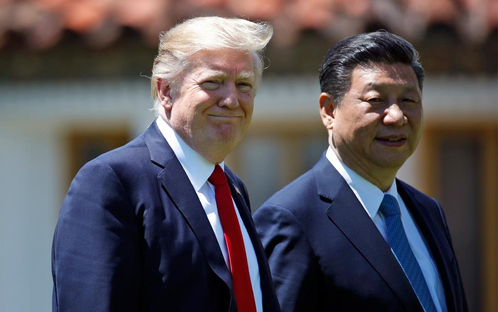 Donald Trump y  Xi Jinping - Estados Unidos y China