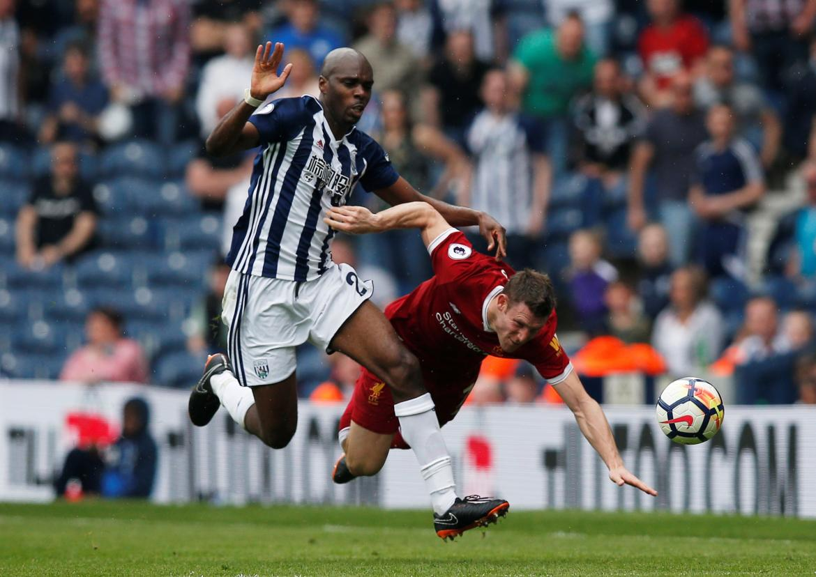 West Bromwich Albion vs. Liverpool (Reuters)