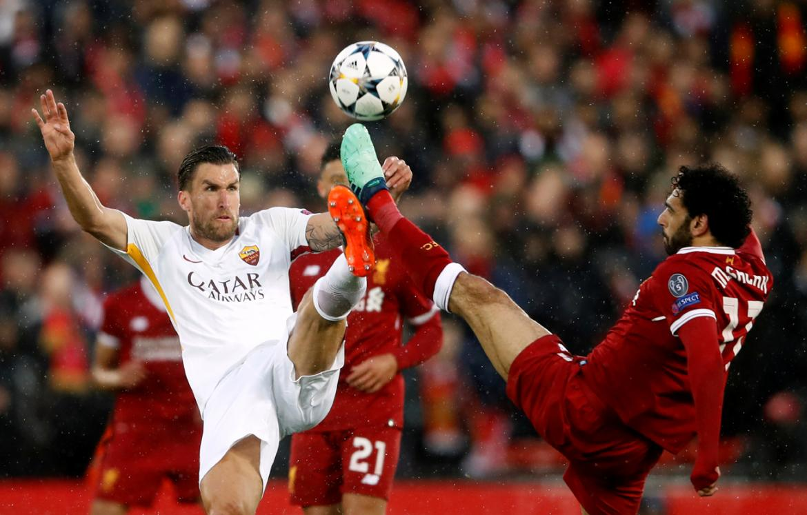 Liverpool vs. Roma - Champions League - Fútbol internacional (Reuters)