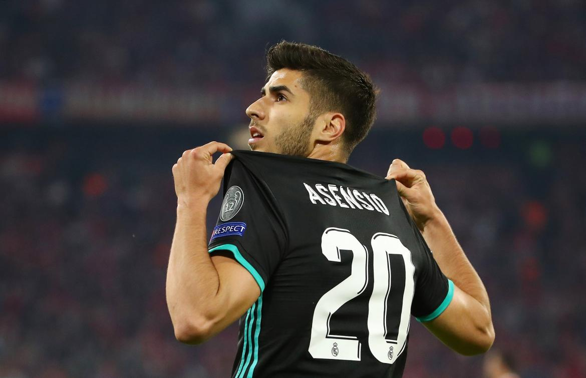 Champions League - Bayern Munich vs. Real Madrid, Marco Asensio (Reuters)