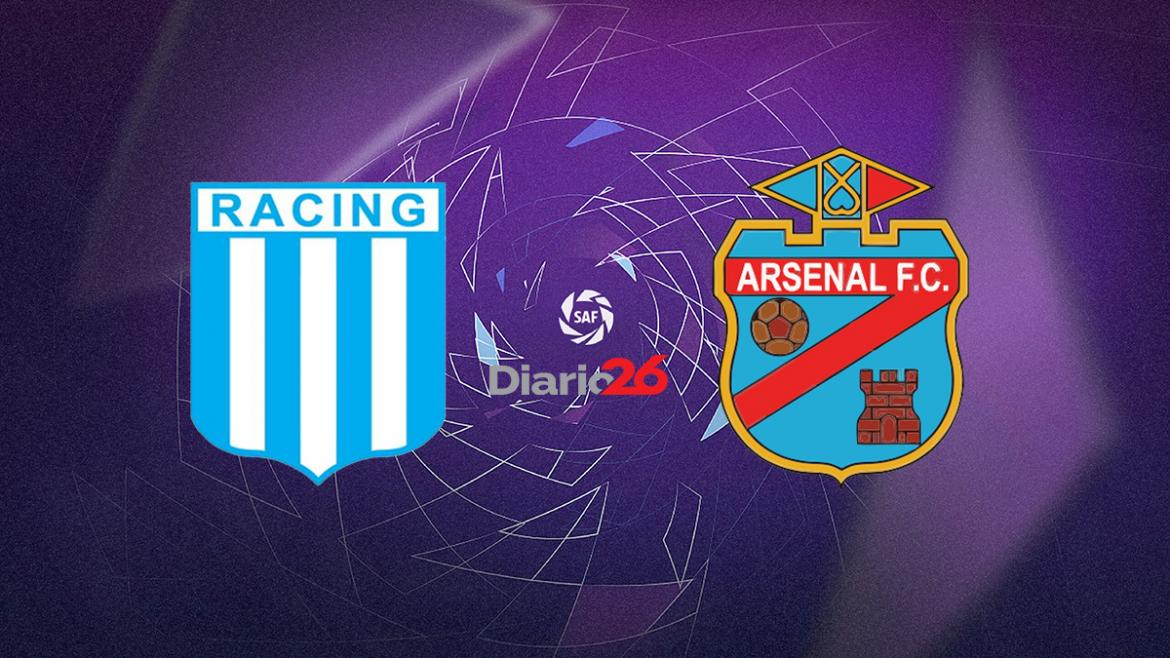 Racing vs. Arsenal - Superliga - Futbol