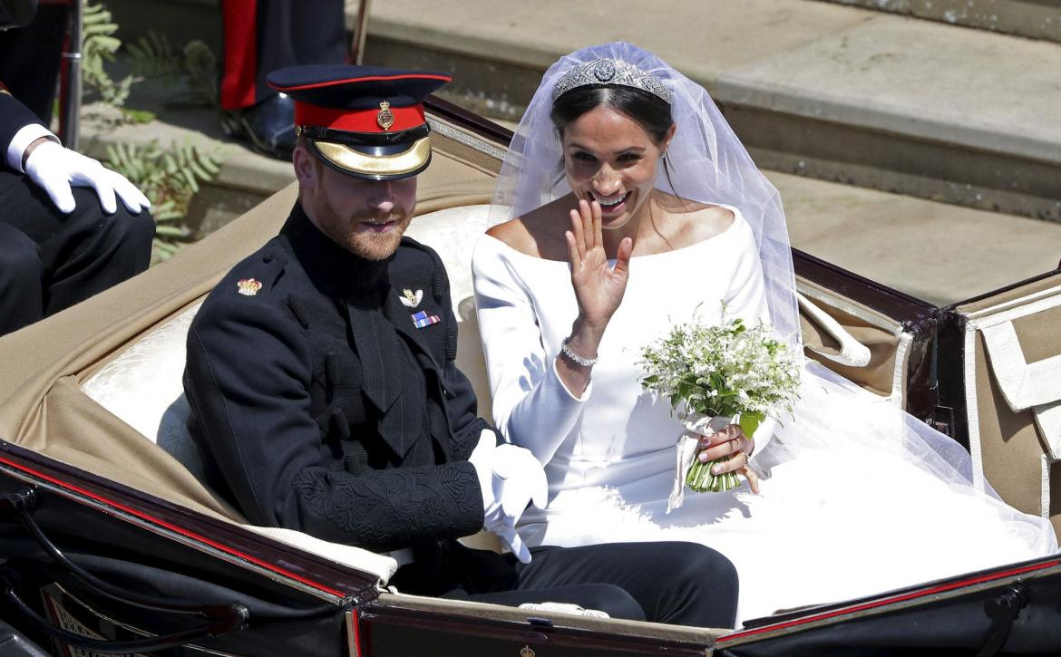 Boda real - Meghan y Harry