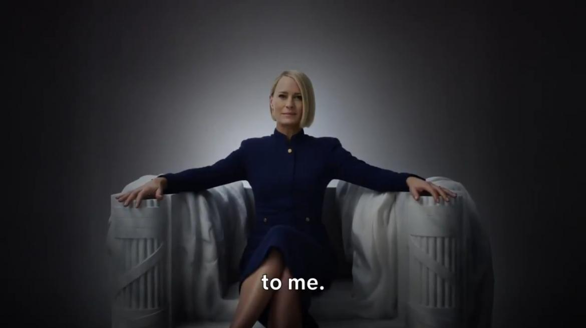 House of Cards anunció que regresa La Presidenta — Netflix