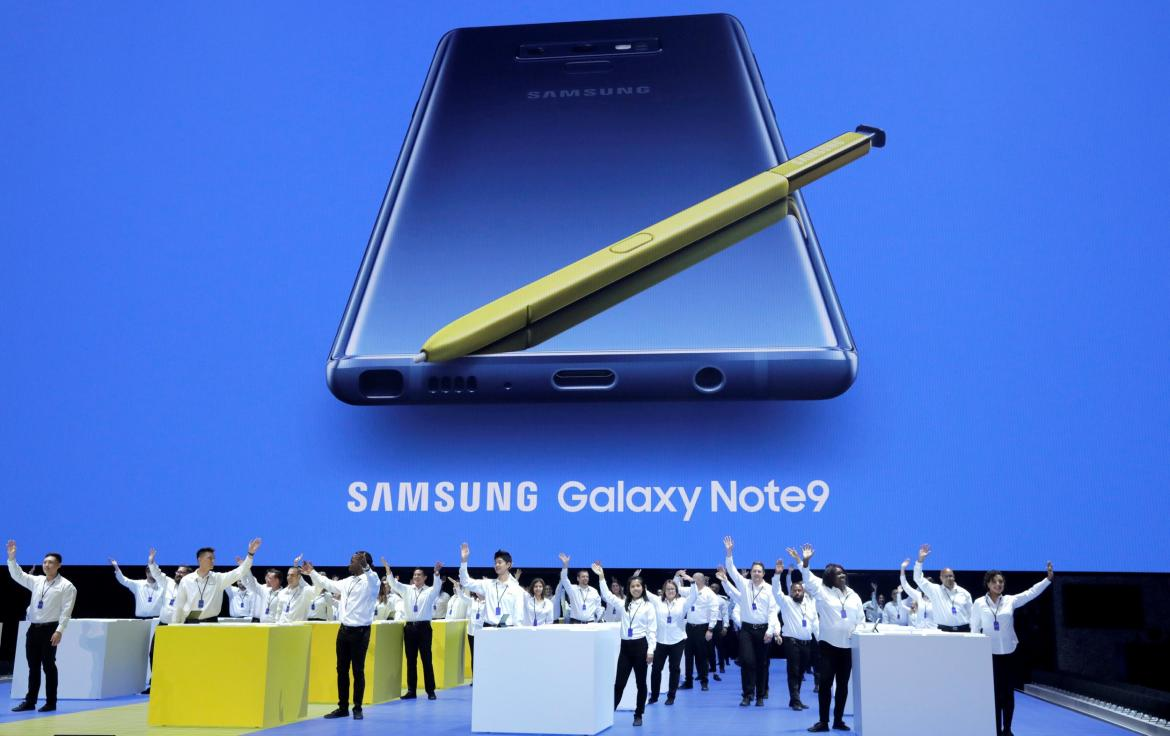 Samsung Galaxy Note 9 - Reuters