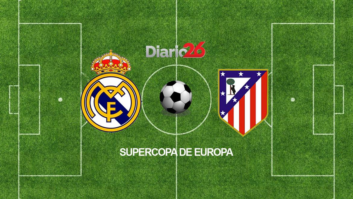 Real Madrid vs. Atlético Madrid - Supercopa de Europa - Fútbol