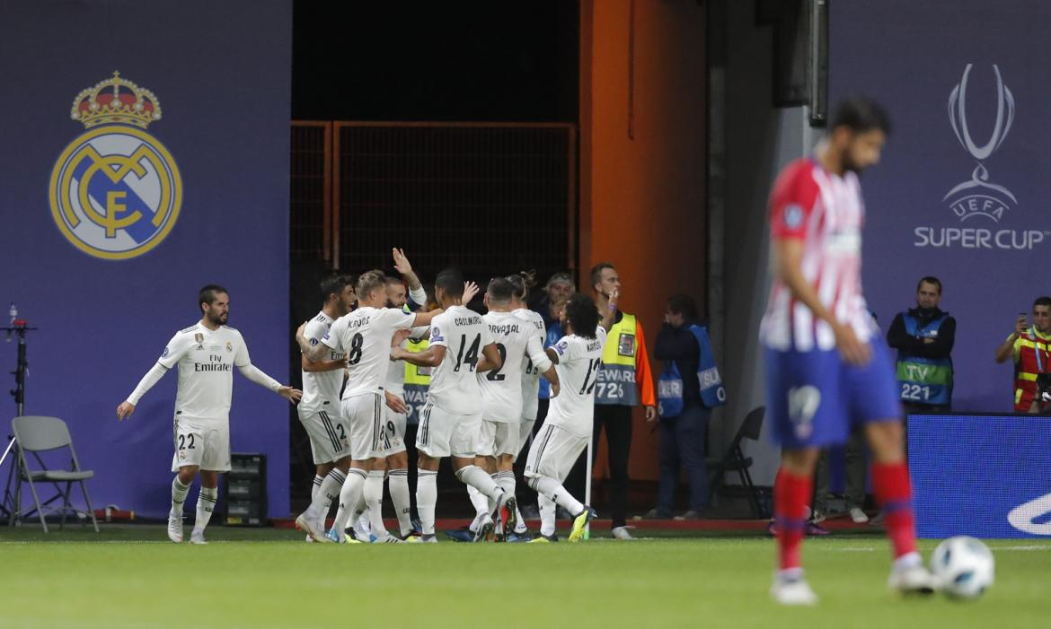 Supercopa de Europa: Atlético Madrid vs. Real Madrid (Reuters)