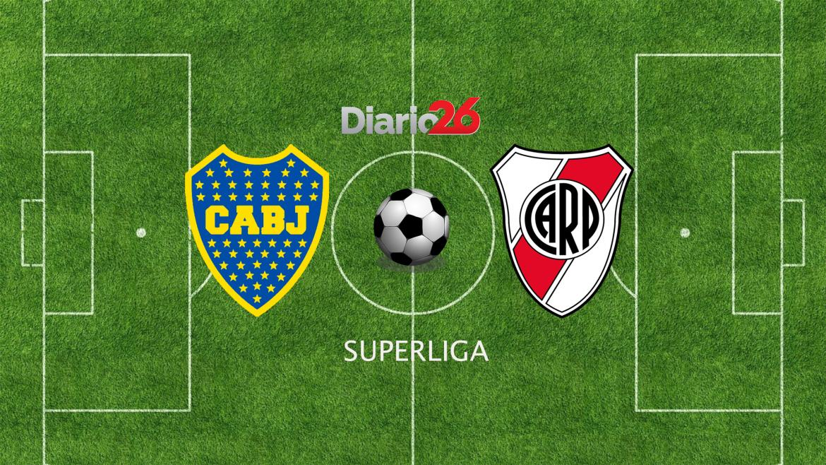 Superliga: Boca vs. River