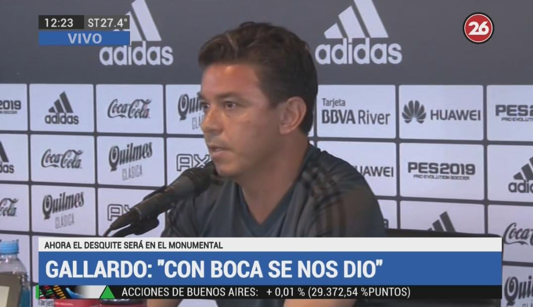Marcelo Gallardo - Conferencia de prensa