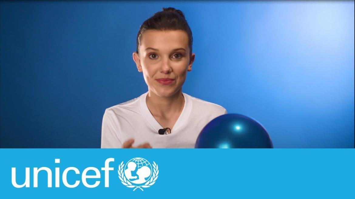 Millie Bobby Brown en UNICEF
