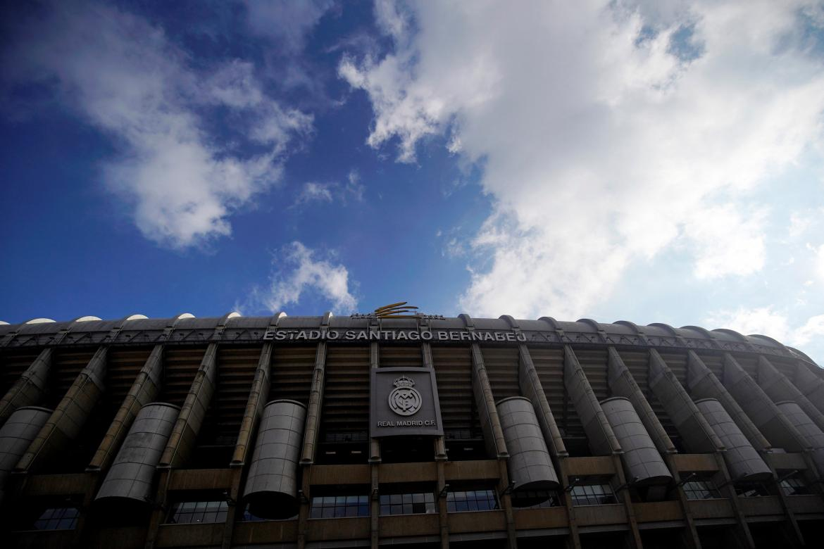 Santiago Bernabeu stadium is seen in Madrid, Reuters, estadio Superfinal