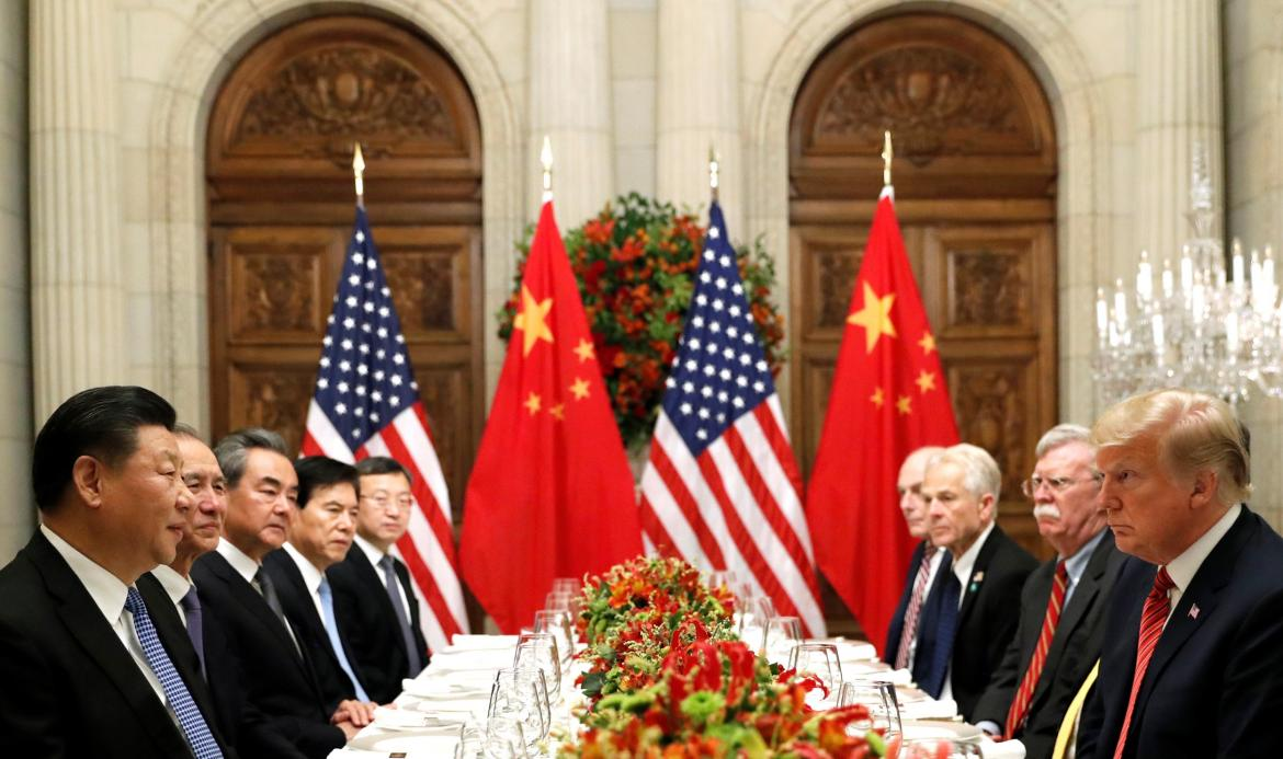 Reunión China - Estados Unidos