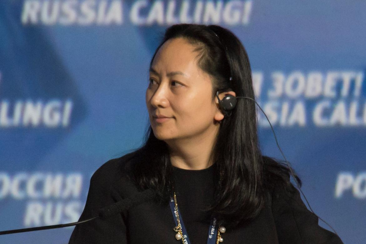 Meng Wanzhou, directora financiera global de Huawei (Reuters)