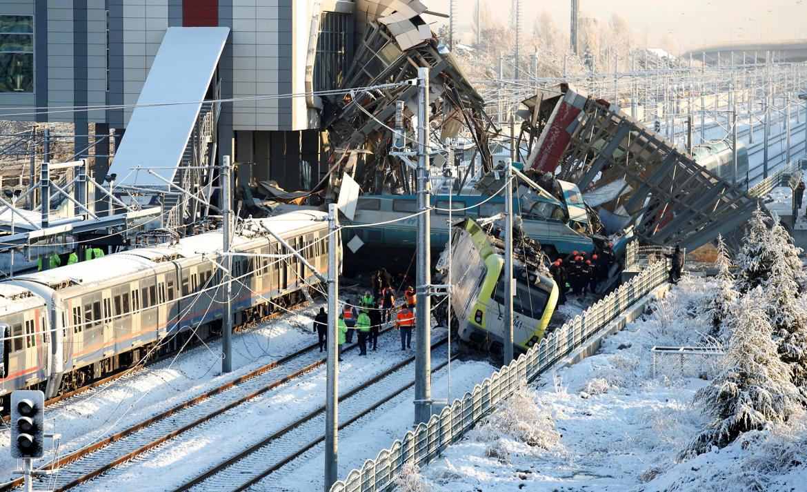 Accidente de tren en Turquía, Reuters