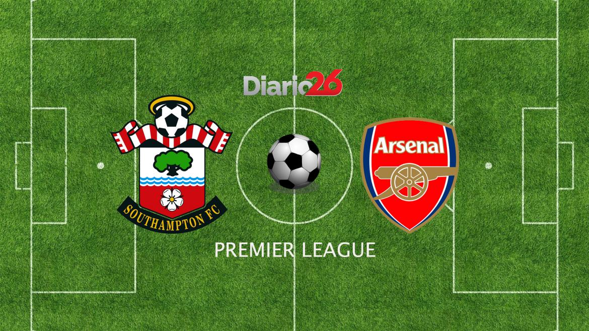 Premier League - Southampton - Arsenal