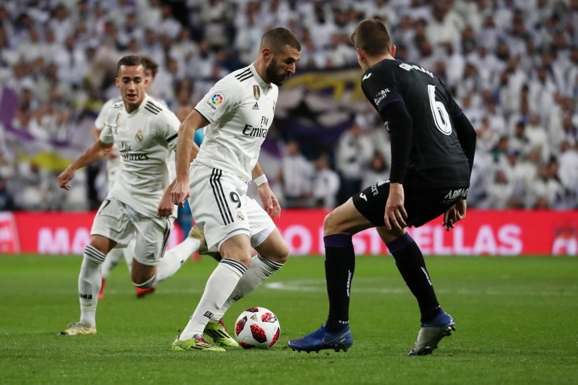 Copa del Rey: Real Madrid vs. Leganés, Reuters
