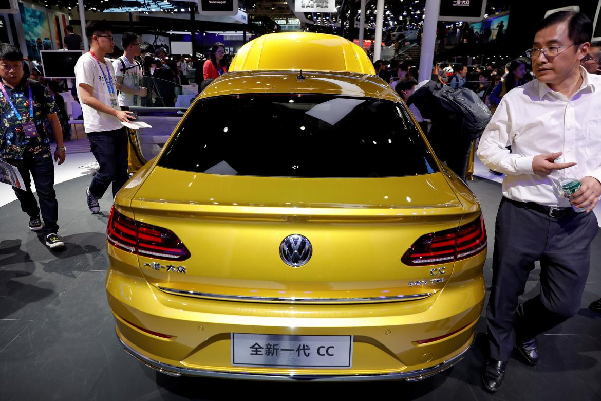 Volkswagen CC, autos, automotrices, Reuters