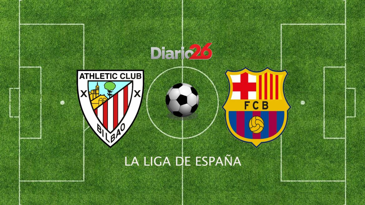 Athletic Bilbao vs. Barcelona, La Liga de España