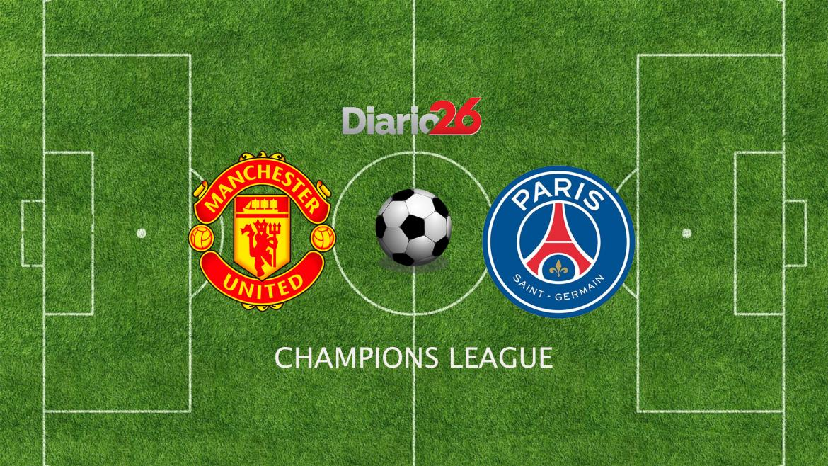 Champions League, Manchester United vs. PSG