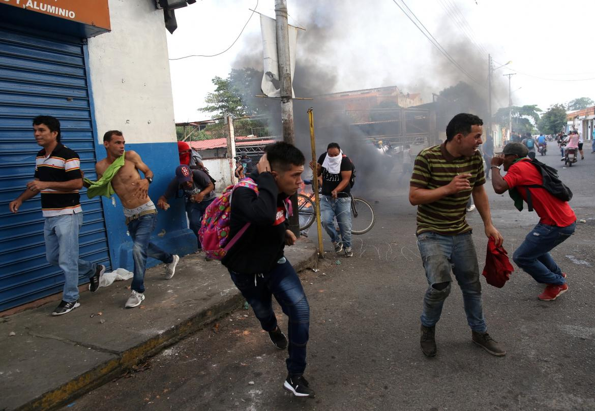 Incidentes Venezuela - Reuters