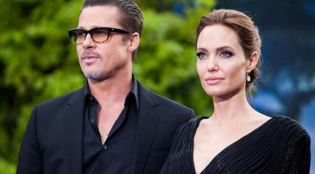 Brad Pitt y Angelina Jolie - Hollywood