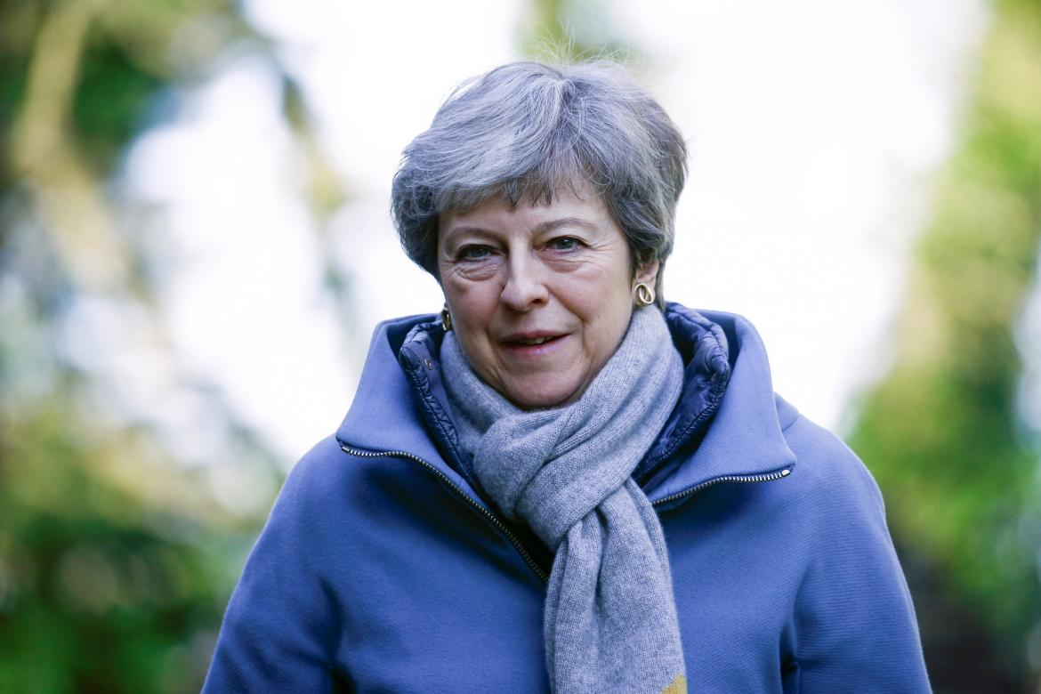 Theresa May - Primer Ministro UK Reuters