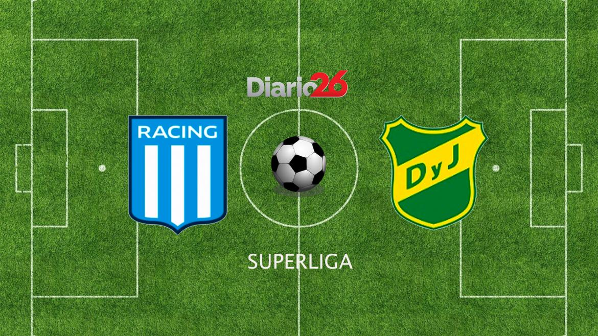 Superliga, Racing vs. Defensa y Justicia, fútbol, deportes, Diario26