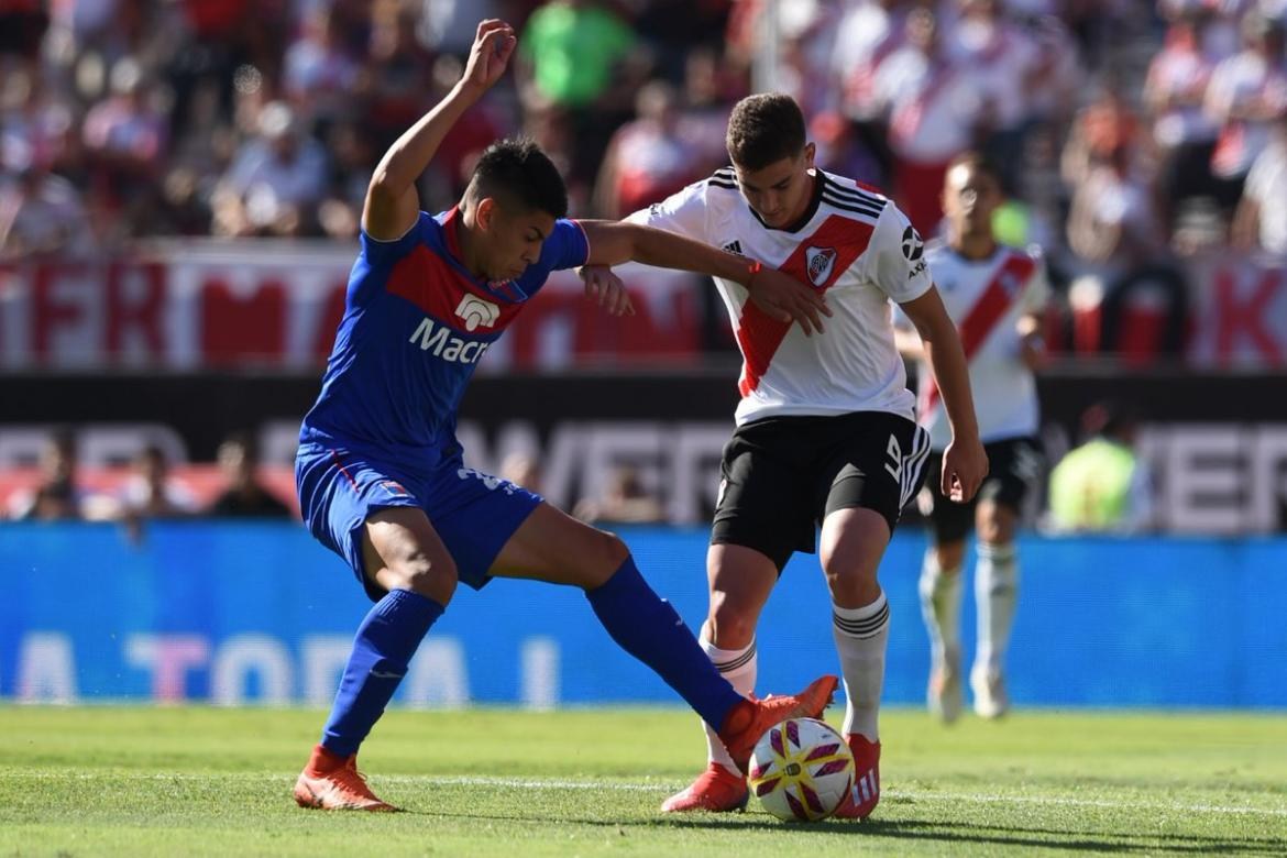 Superliga, River vs. Tigre, fútbol, deportes, Twitter de River