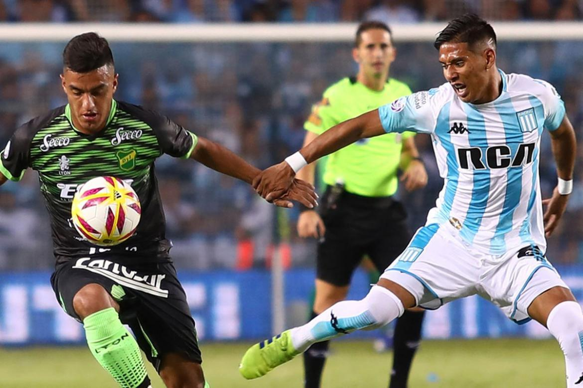 Superliga, Racing vs. Defensa y Justicia, fútbol, deportes, Foto: Twitter Racing