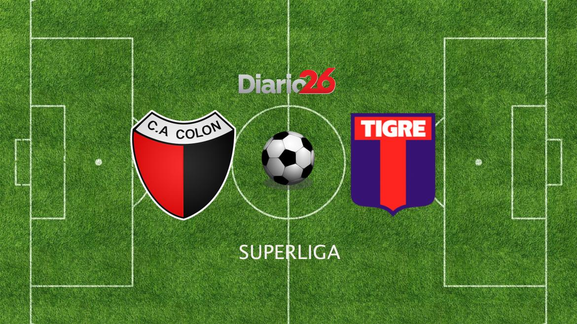 Superliga: Colón vs. Tigre, Diario 26