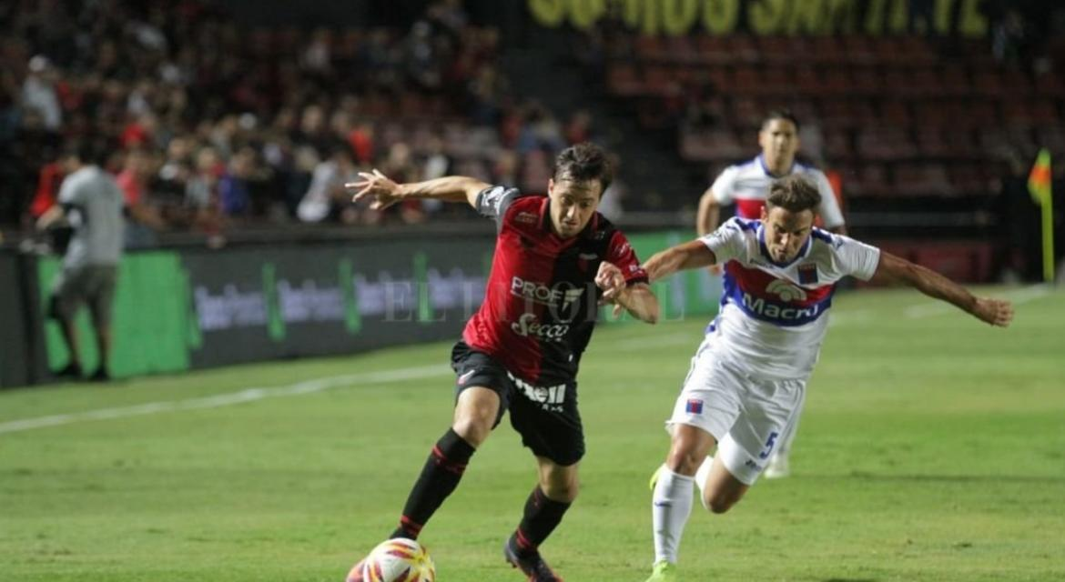 Superliga: Colón vs. Tigre, Foto Ellitoral.com