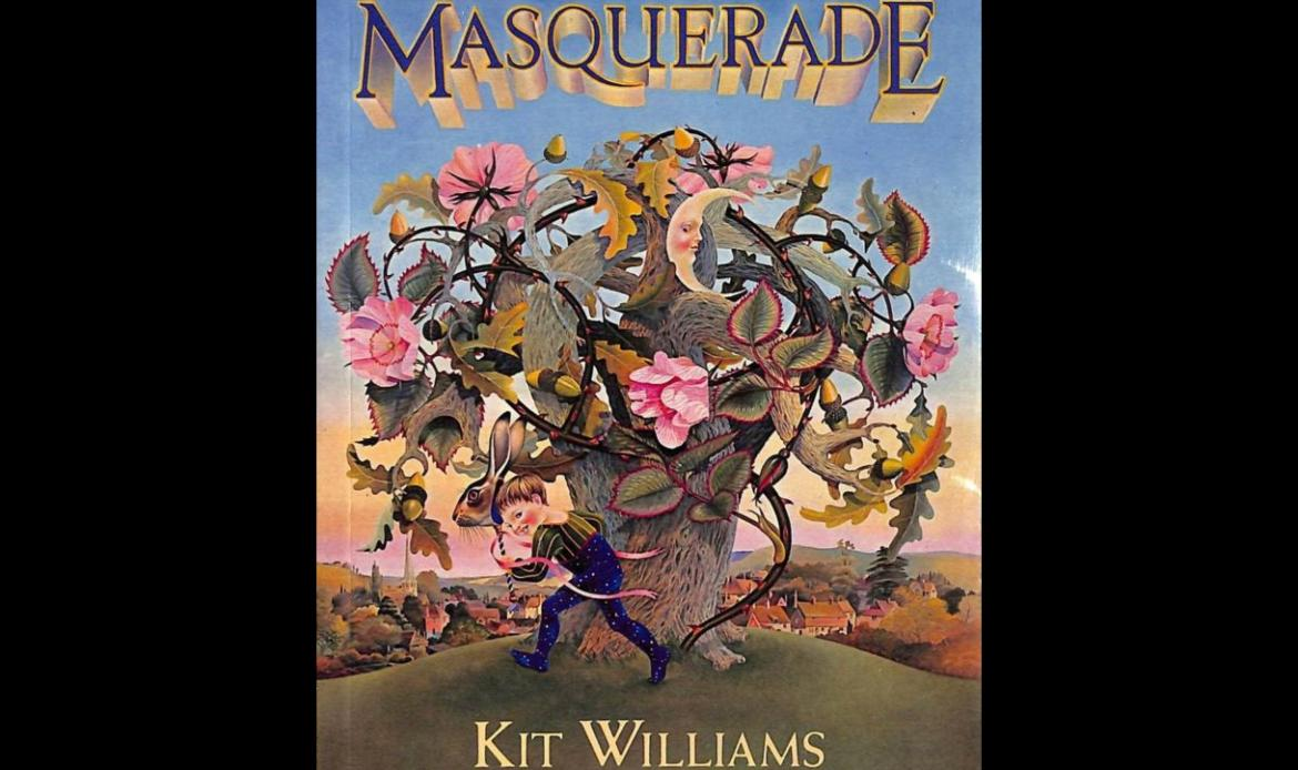 Masquerade, Kit Williams, libro, liebre de oro, tesoro