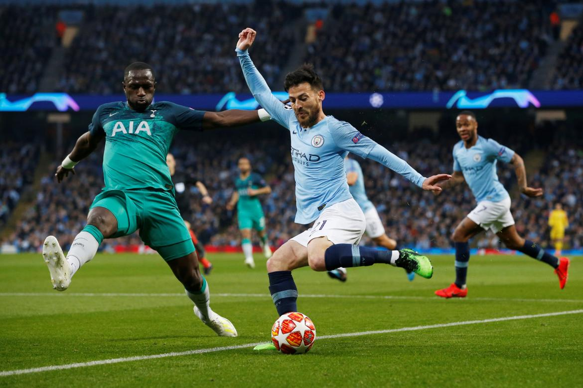 Champions League, Manchester City vs. Tottenham, fútbol, deportes, Reuters