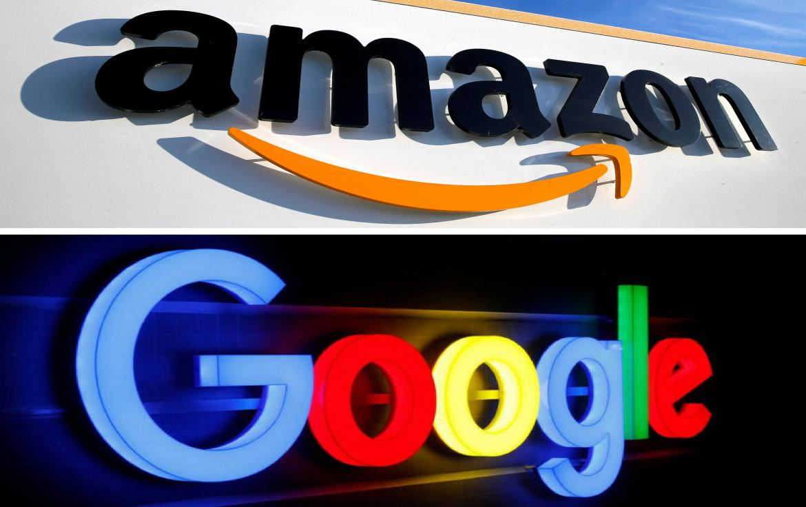 Amazon y Google, Reuters