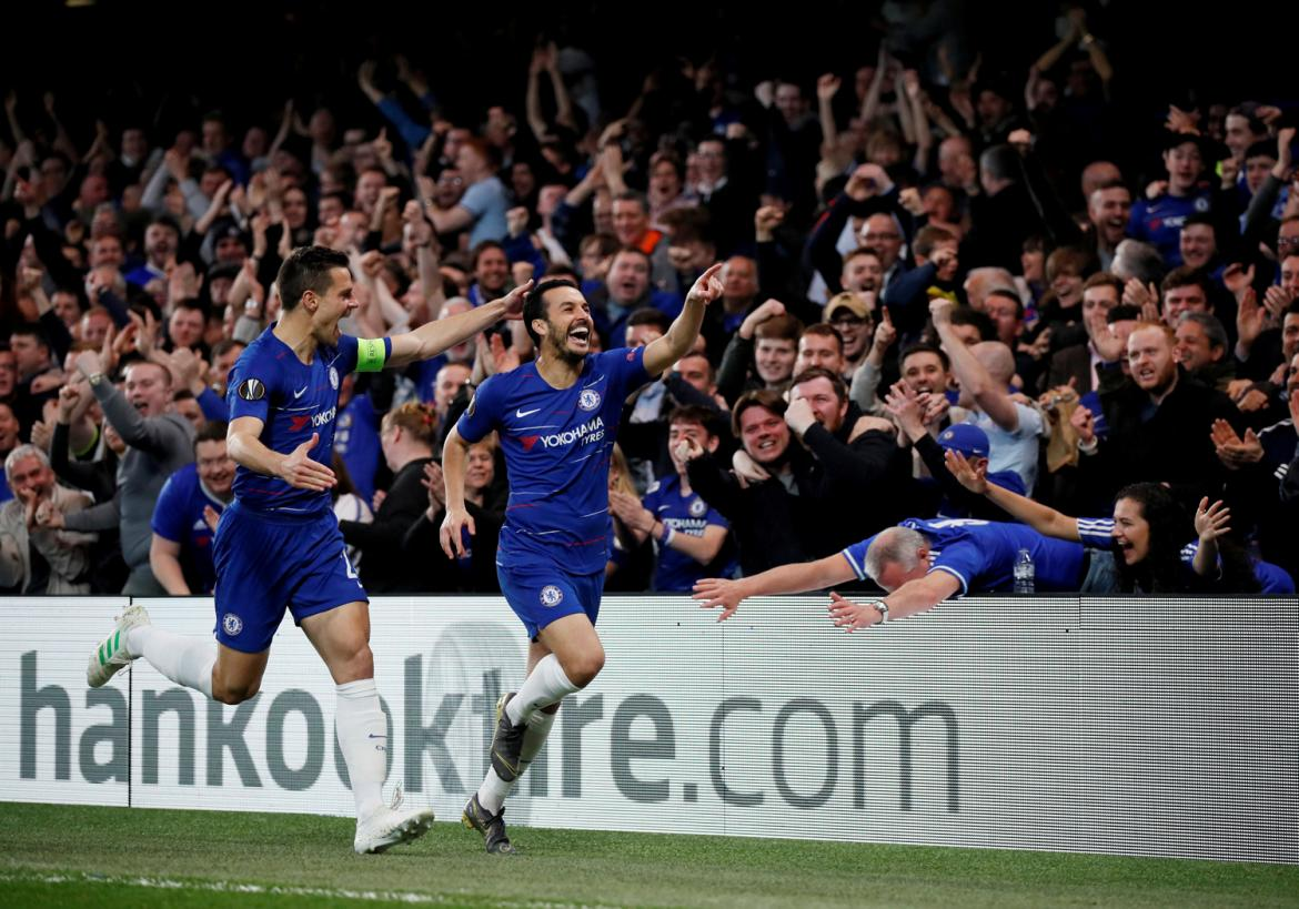 Europa League, Chelsea vs. Slavia, fútbol, deportes, Reuters