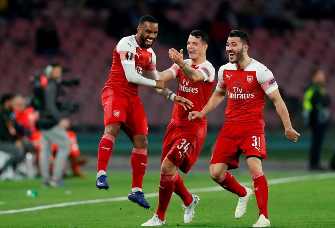 Europa League, Nápoli vs. Arsenal, fútbol, deportes, Reuters