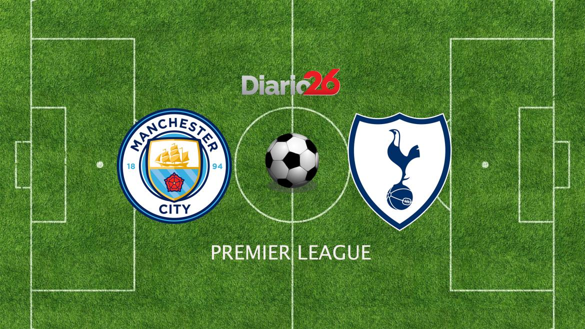 Premier League: Manchester City vs. Tottenham, Diario 26